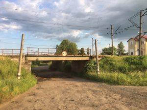 Eine tiefe Brücke
