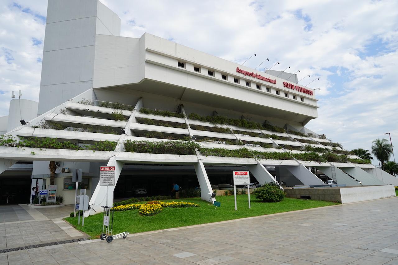 Flughafen von Assuncíon.