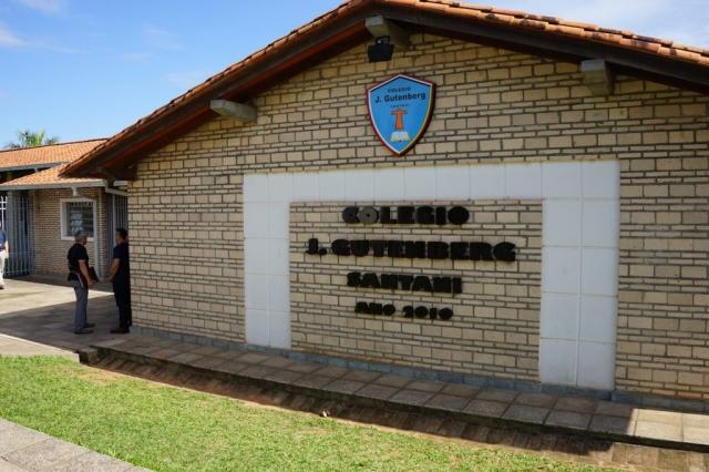 Christliche Schule J. Gutenberg in Santani.