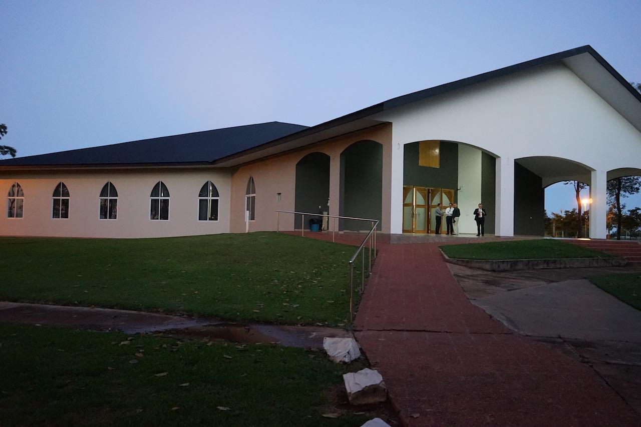 Das Gemeindehaus in Sommerfeld.