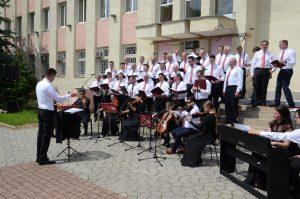 Im Stadtzentrum von Zarichchya