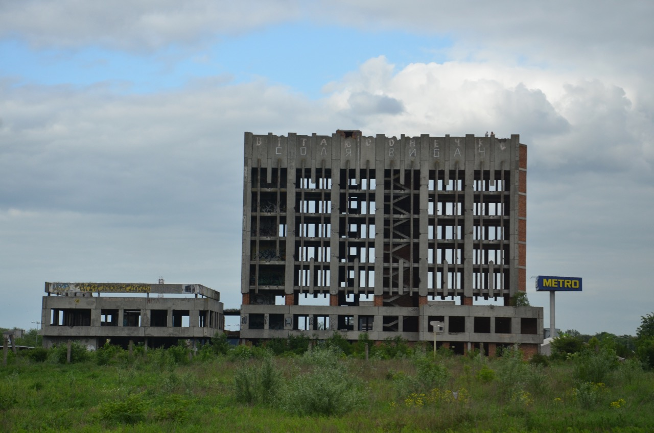 Ruinen aus dem letzten Jahrhundert.