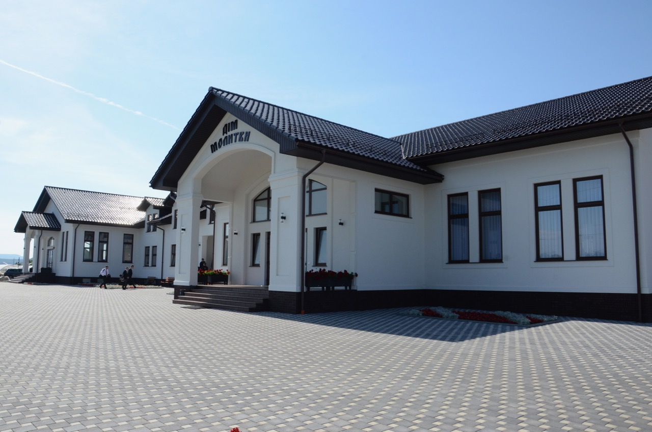 Gemeindehaus in Zarechchya.