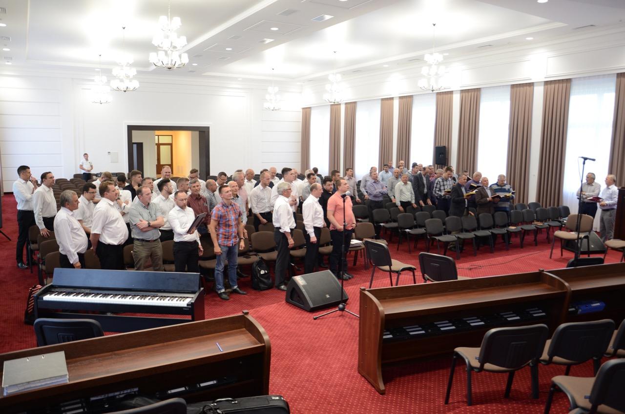 Gottesdienst für die Männer.