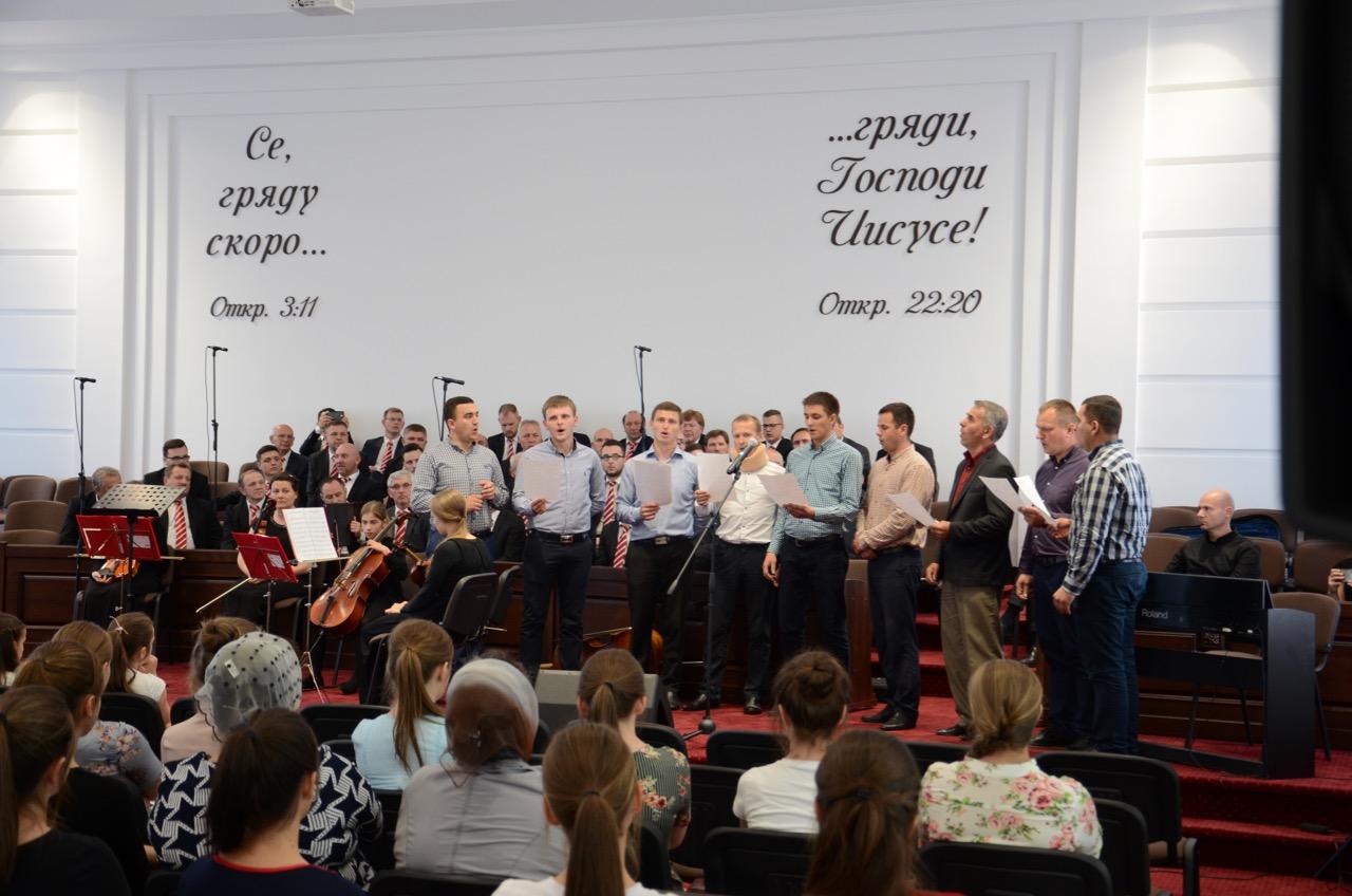 Gruppenlied. Männer aus Zarechchya.
