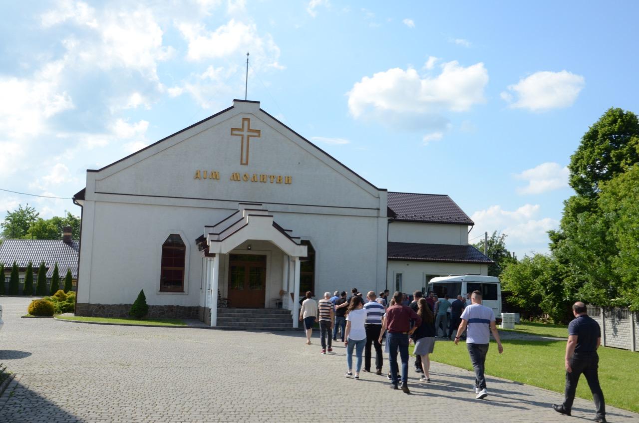Gemeindehaus in Borislav.